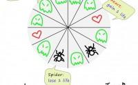 课堂竞赛游戏:Ghosts and Spiders 幽灵与蜘蛛