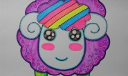 幼儿园小朋友的画画作品