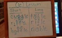 关于自然拼读phonics进阶课程的巧妙方法:-le结尾